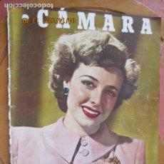 Cine: CAMARA REVISTA CINEMATOGRAFICA Nº 85 -JULIO 1946- LARAINE DAY - FOTOS, DIBUJOS Y PROPAGANDAS. Lote 254624765