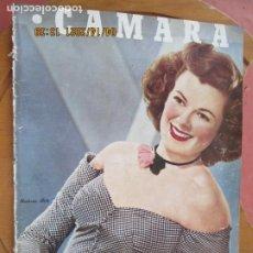 Cine: CAMARA REVISTA CINEMATOGRAFICA Nº 88 SEPTIEMBRE -1946 -BARBARA HALE - FOTOS, DIBUJOS Y PROPAGANDAS. Lote 254625085