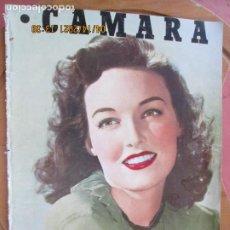 Cine: CAMARA REVISTA CINEMATOGRAFICA Nº 90 - 10-1946 KATHERINE BOOTH - FOTOS, DIBUJOS Y PROPAGANDAS. Lote 254625410