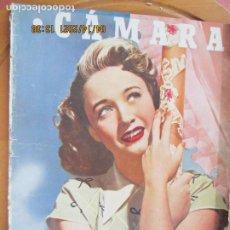 Cine: CAMARA REVISTA CINEMATOGRAFICA Nº 87- 08-1946 -JANE POWELL - FOTOS, DIBUJOS Y PROPAGANDAS. Lote 254626655