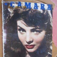 Cine: CAMARA REVISTA CINEMATOGRAFICA Nº 125 -SARA MONTIEL - 03-1948 - - FOTOS, DIBUJOS Y PROPAGANDAS. Lote 254627415