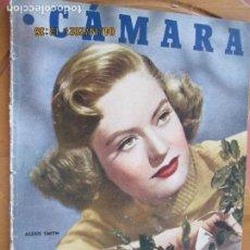 Cine: CAMARA REVISTA CINEMATOGRAFICA Nº 103-ABRIL -1947 -ALEXIS SMITH - FOTOS, DIBUJOS Y PROPAGANDAS. Lote 254630390