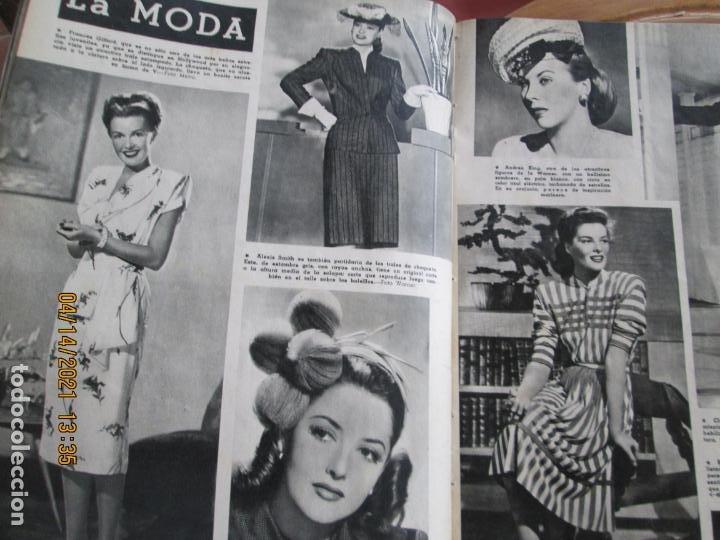 Cine: CAMARA REVISTA CINEMATOGRAFICA Nº 93 - 11-1946 - JUNE LOCKHART - FOTOS, DIBUJOS Y PROPAGANDAS - Foto 3 - 254630875