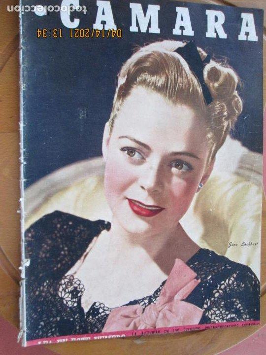 CAMARA REVISTA CINEMATOGRAFICA Nº 93 - 11-1946 - JUNE LOCKHART - FOTOS, DIBUJOS Y PROPAGANDAS (Cine - Revistas - Cámara)