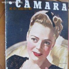 Cine: CAMARA REVISTA CINEMATOGRAFICA Nº 93 - 11-1946 - JUNE LOCKHART - FOTOS, DIBUJOS Y PROPAGANDAS. Lote 254630875