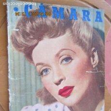 Cine: CAMARA REVISTA CINEMATOGRAFICA Nº 109- 07-1947- LILLI PALMER - FOTOS, DIBUJOS Y PROPAGANDAS. Lote 254631095