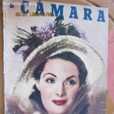 Cine: CAMARA REVISTA CINEMATOGRAFICA Nº 147 -02-1949 -TAMARA LEES .- FOTOS, DIBUJOS Y PROPAGANDAS. Lote 254631345