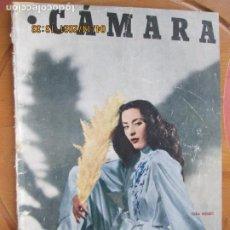 Cine: CAMARA REVISTA CINEMATOGRAFICA Nº 146 - 02-1949- VERA MENDY - FOTOS, DIBUJOS Y PROPAGANDAS. Lote 254631560