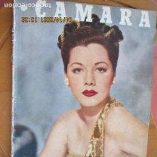 Cine: CAMARA REVISTA CINEMATOGRAFICA Nº 101-03-1947 - MARIA MONTEZ - FOTOS, DIBUJOS Y PROPAGANDAS. Lote 254631840
