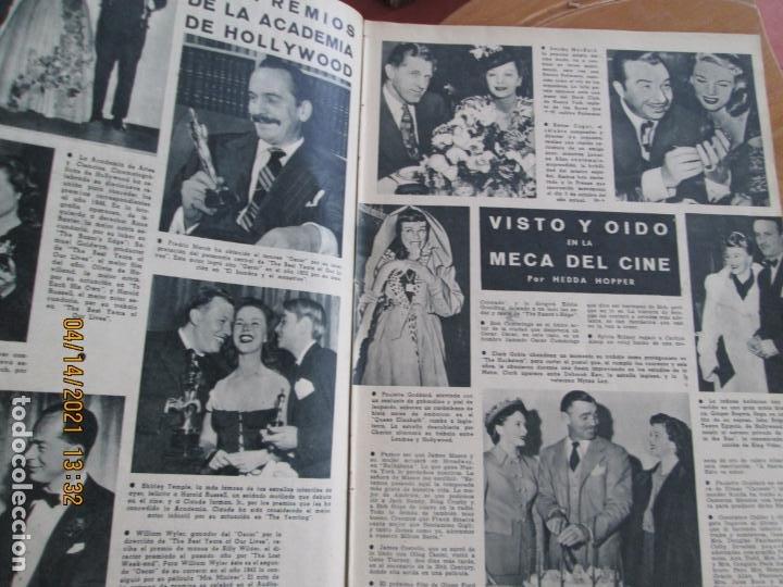 Cine: CAMARA REVISTA CINEMATOGRAFICA Nº 102- 04-1947- CONSTANCE MOORE - FOTOS, DIBUJOS Y PROPAGANDAS - Foto 3 - 254632190