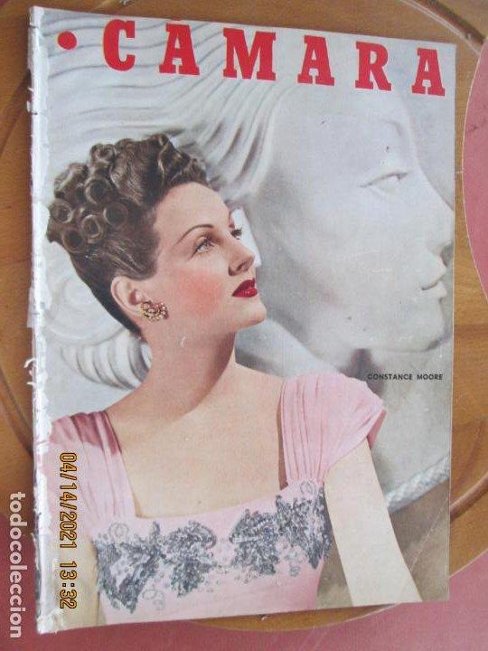 CAMARA REVISTA CINEMATOGRAFICA Nº 102- 04-1947- CONSTANCE MOORE - FOTOS, DIBUJOS Y PROPAGANDAS (Cine - Revistas - Cámara)