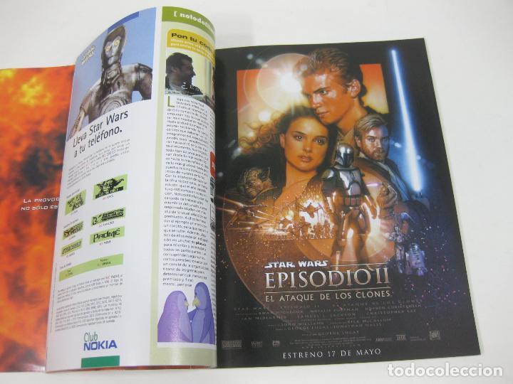 Cine: REVISTA CINEMANÍA Nº 80 DE EL ATAQUE DE LOS CLONES - STAR WARS - EPISODIO II - ATACAN LOS CLONES - Foto 3 - 254650985