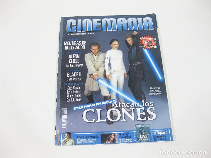 REVISTA CINEMANÍA Nº 80 DE EL ATAQUE DE LOS CLONES - STAR WARS - EPISODIO II - ATACAN LOS CLONES (Cine - Revistas - Cinemanía)