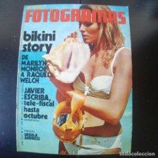 Cine: FOTOGRAMAS NUMERO 1190 - 6 AGOSTO 1971 / BIKINI STORY - JAVIER ESCRIBA - URSULA ANDRESS. Lote 254875710