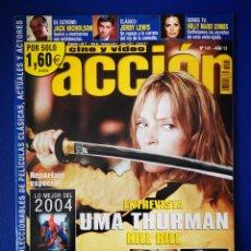 Cine: ACCION - REVISTA - ENERO 2005. Lote 254931530