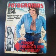 Cine: FOTOGRAMAS NUMERO 1195 - 10 SEPTIEMBRE 1971 / OLIVIA HUSSEY - SERRAT. Lote 254937570