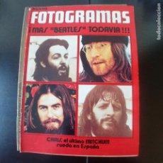 Cine: FOTOGRAMAS NUMERO 1196 - 17 SEPTIEMBRE 1971 / BEATLES - CHRIS MITCHUM. Lote 254937800