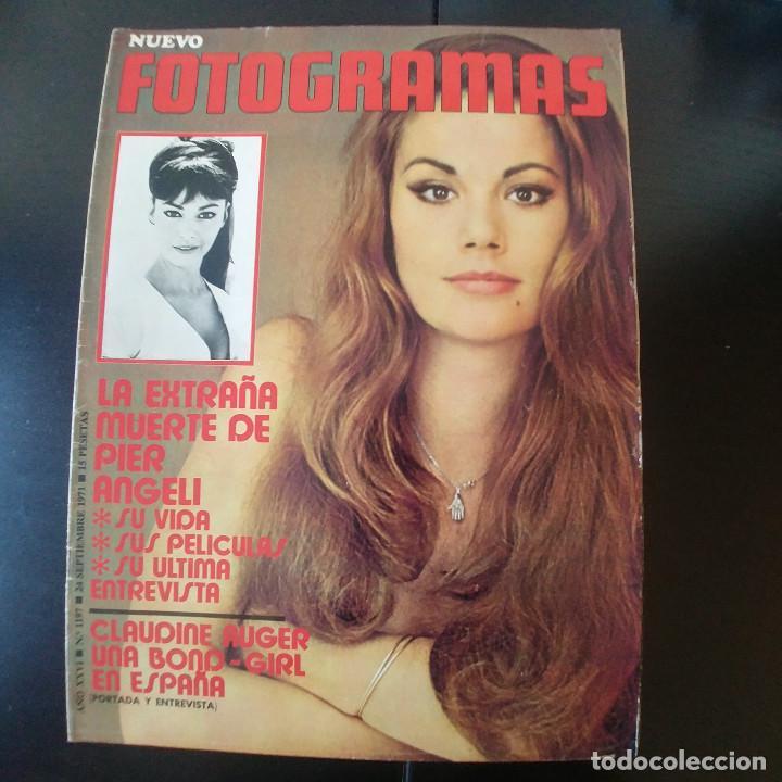 FOTOGRAMAS NUMERO 1197 - 24 SEPTIEMBRE 1971 / PIER ANGELI - CLAUDINE AUGER (Cine - Revistas - Fotogramas)