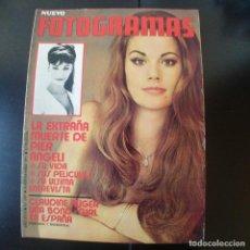 Cine: FOTOGRAMAS NUMERO 1197 - 24 SEPTIEMBRE 1971 / PIER ANGELI - CLAUDINE AUGER. Lote 254938365