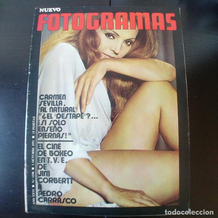 FOTOGRAMAS NUMERO 1198 - 1 OCTUBRE 1971 / CARMEN SEVILLA - PEDRO CARRASCO (Cine - Revistas - Fotogramas)