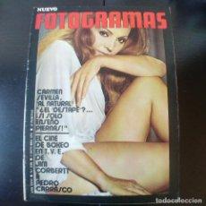 Cine: FOTOGRAMAS NUMERO 1198 - 1 OCTUBRE 1971 / CARMEN SEVILLA - PEDRO CARRASCO. Lote 254938745