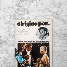 Cine: DIRIGIDO POR - Nº 18 -1974 - STANLEY DONEN, GENE KELLY, SEMANA DE CINE EN COLOR, JOHN MILIUS. Lote 254948370