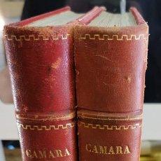 Cine: REVISTA CAMARA, ENCUADERNADA, AÑO 1948 COMPLETO, 2 TOMOS Nº 120 A 143, 24 REVISTAS. Lote 254950870
