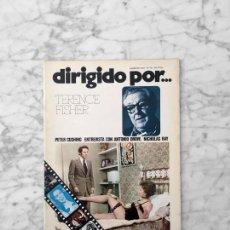 Cine: DIRIGIDO POR - Nº 20 -1975 - TERENCE FISHER, PETER CUSHING, ANTONIO DROVE, CICLO NICHOLAS RAY. Lote 254951105