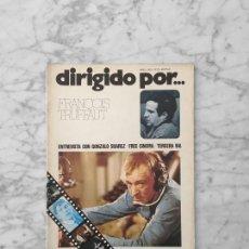 Cine: DIRIGIDO POR - Nº 22 - 1975 - FRANÇOIS TRUFFAUT, TERCERA VIA, GONZALO SUAREZ, LAUREL & HARDY. Lote 254951640