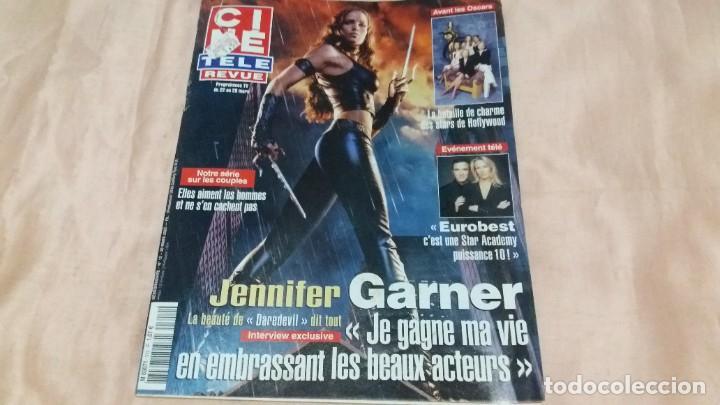 .CINE-REVUE-20 MARZO 2003-Nº12(J.GARNER,KIM NOVAK,AVA GARDNER,D.RUSSO,STARS HOLLYWOOD,ETC)VOIR PHOT (Cine - Revistas - Otros)