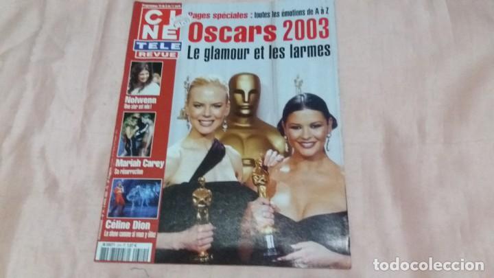 .CINE-REVUE-3 ABRIL 2003-Nº14(C.DION,M.CAREY,OSCARS 2003,PETER LAWFORD,GINGER ROGERS,ETC)VOIR PHOT (Cine - Revistas - Otros)