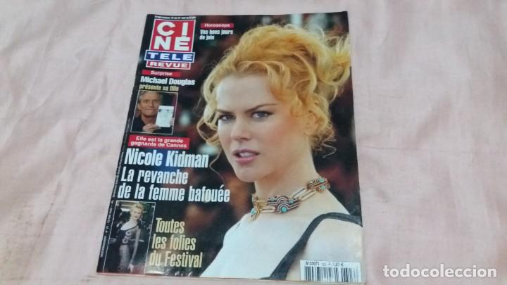 .CINE-REVUE-29 MAYO 2003-Nº22(N.KIDMAN,PIERRE CARDIN,ROBERT STACK,BOB HOPE,M.DOUGLAS,ETC)VOIR PHOT (Cine - Revistas - Otros)