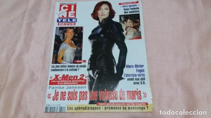 .CINE-REVUE-8 MAYO 2003-Nº19(M.O.OLIVER,JUDY HOLLIDAY,SUSAN HAYWARD,M.DRUCKER,XMEN 2,ETC)VOIR PHOT (Cine - Revistas - Otros)