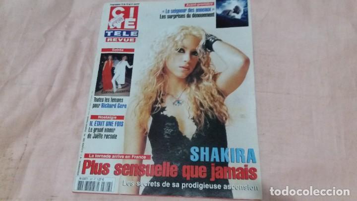 .CINE-REVUE-13 FEBRERO 2003-Nº7(SHAKIRA,RICHARD GERE,ANASTACIA,ALAN LADD,TONY CURTIS,ETC)VOIR PHOT (Cine - Revistas - Otros)