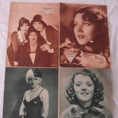 Cine: LOTE 4 REVISTAS POPULAR FILM 1930-31 JOAN CRAWFORD CLAUDETTE COLBERT FAY WRAY ANITA PAGE. Lote 254981340