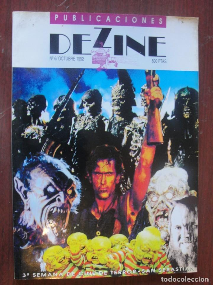 REVISTA DEZINE 6 - SEGURA PALACIOS CRONENBERG DANIEL MONZON MANOLO VALENCIA - ENVIO GRATIS (Cine - Revistas - Otros)