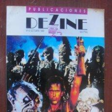Cine: REVISTA DEZINE 6 - SEGURA PALACIOS CRONENBERG DANIEL MONZON MANOLO VALENCIA - ENVIO GRATIS. Lote 255000780