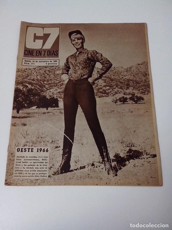 REVISTA C7 CINE EN SIETE DIAS Nº 293 AÑO 1966 (Cine - Revistas - Cine en 7 dias)