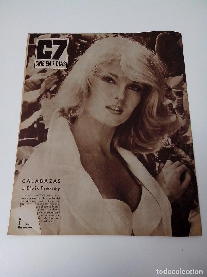 Cine: REVISTA C7 CINE EN SIETE DIAS Nº 293 AÑO 1966 - Foto 3 - 255021095