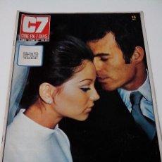 Cine: REVISTA C7 CINE EN SIETE DIAS Nº 512 AÑO 1971 BODA JULIO IGLESIAS. Lote 255021235