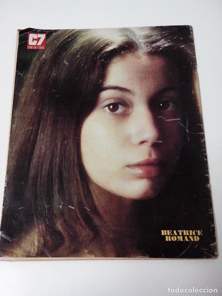 Cine: REVISTA C7 CINE EN SIETE DIAS Nº 629 AÑO 1973 - Foto 3 - 255021350