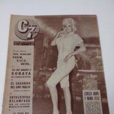 Cine: REVISTA C7 CINE EN SIETE DIAS Nº 103 AÑO 1963. Lote 255021400