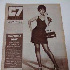 Cine: REVISTA C7 CINE EN SIETE DIAS Nº 345 AÑO 1967. Lote 255023725