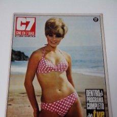 Cine: REVISTA C7 CINE EN SIETE DIAS Nº 583 AÑO 1972. Lote 255023810