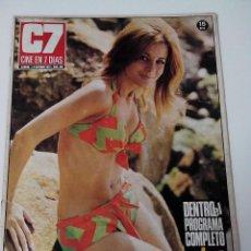 Cine: REVISTA C7 CINE EN SIETE DIAS Nº 601 AÑO 1972. Lote 255023875
