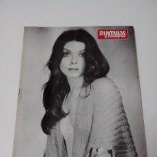 Cine: REVISTA PANTALLAS Y ESCENARIOS Nº 120 AÑO 1972. Lote 255024220