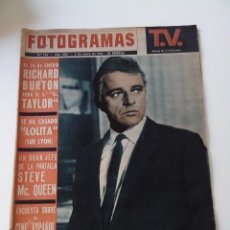 Cine: REVISTA FOTOGRAMAS Nº 794 AÑO 1964. Lote 255024905
