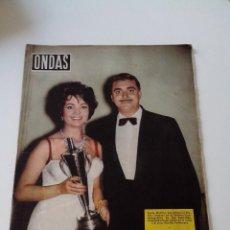 Cine: REVISTA ONDAS Nº 138 AÑO 1958. Lote 255024985