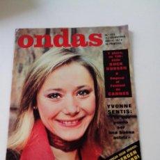 Cine: REVISTA ONDAS Nº 515 AÑO 1974. Lote 255025020
