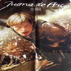 Cine: POSTER JUANA DE ARCO MILLA JOVOVICH 1999 CRESTAURACIONES 2. Lote 255078860